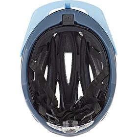 KED Champion Visor Helm blue matt